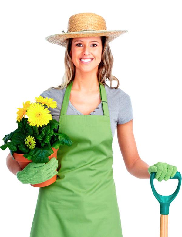 Картинки садовника женщина